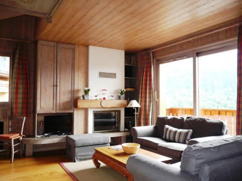 Location au ski Appartement duplex 4 pièces 6 personnes (07) - Residence Frenes - Méribel - Séjour