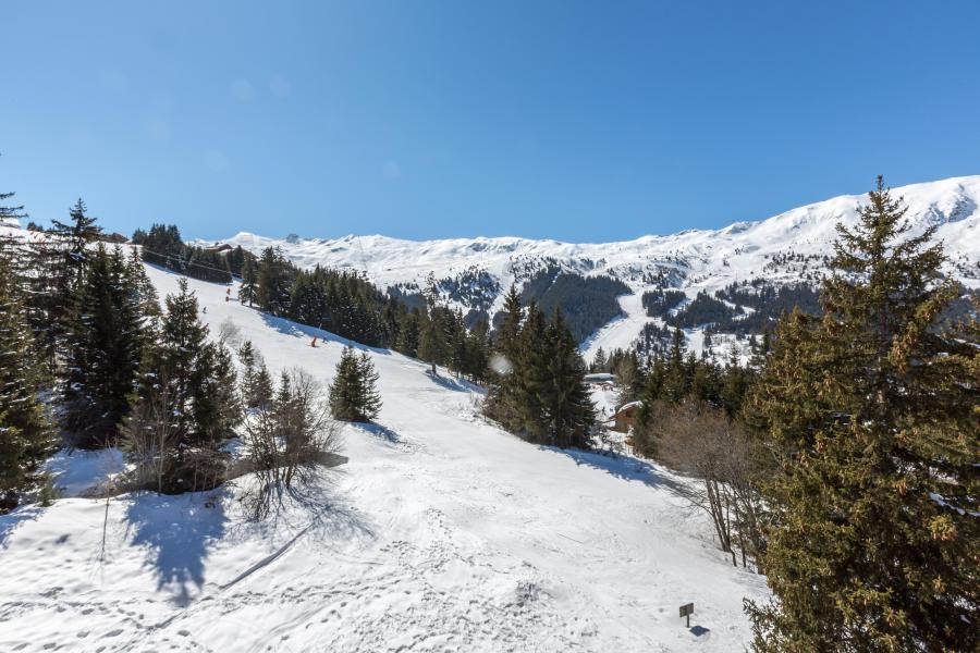 Vacances en montagne Appartement 3 pièces mezzanine 5 personnes (14) - Résidence Gelinotte - Méribel - Extérieur hiver