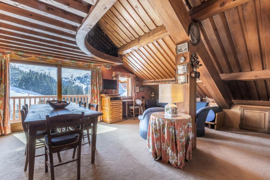 Location au ski Appartement 3 pièces mezzanine 5 personnes (14) - Résidence Gelinotte - Méribel - Séjour