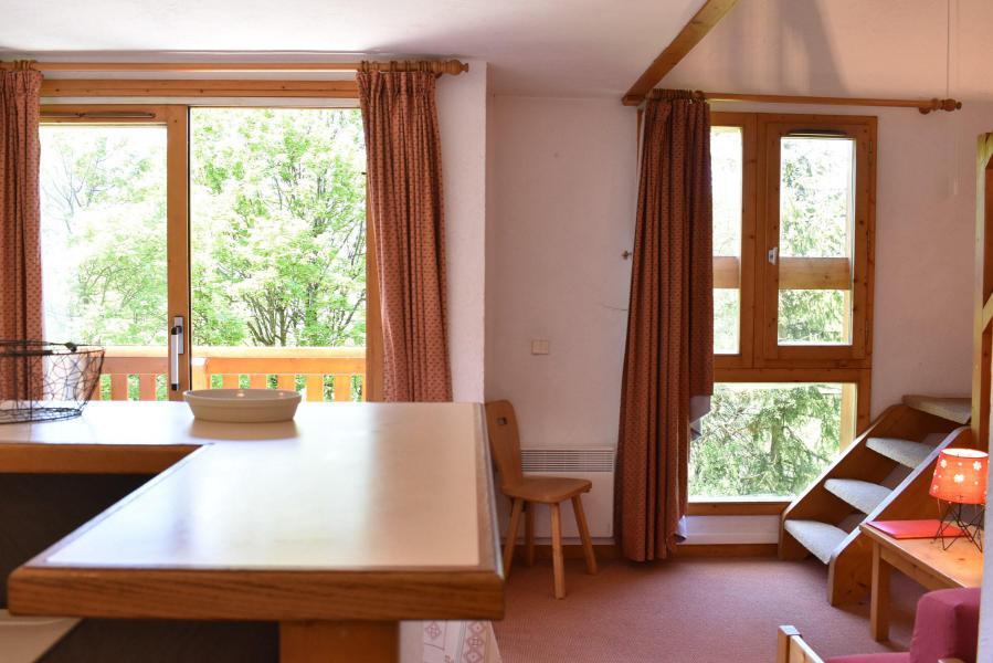 Alquiler al esquí Apartamento dúplex 5 piezas 8 personas (18) - Résidence Hauts de Chantemouche - Méribel - Apartamento