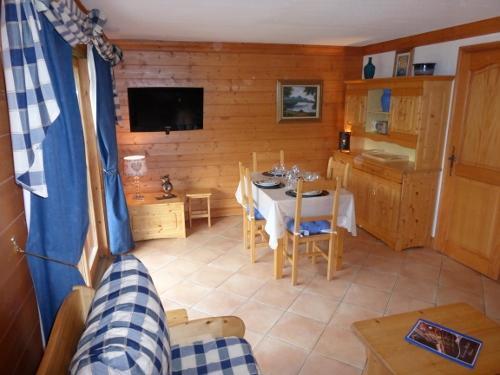 Location au ski Appartement 3 pièces 6 personnes - Residence Jardin D'eden - Méribel - Tv