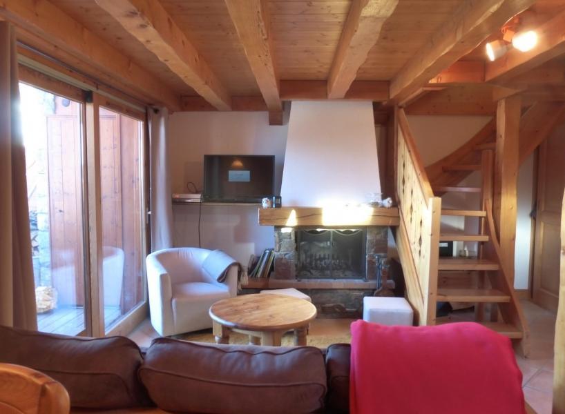 Location au ski Appartement 3 pièces 7 personnes - Residence Jardin D'eden - Méribel - Séjour