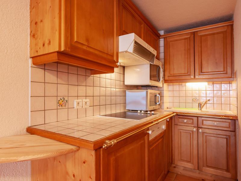 Location au ski Appartement 3 pièces 5 personnes (C11) - Résidence Jardins d'Hiver - Méribel - Kitchenette