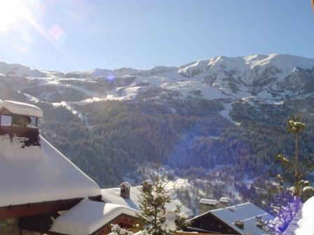 Location au ski Appartement 3 pièces 6 personnes - Residence L'aubepine - Méribel - Extérieur hiver