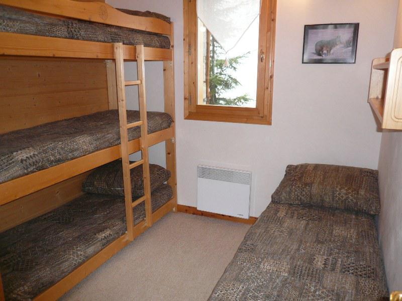 Location au ski Appartement 3 pièces 6 personnes - Residence L'aubepine - Méribel - Lits superposés