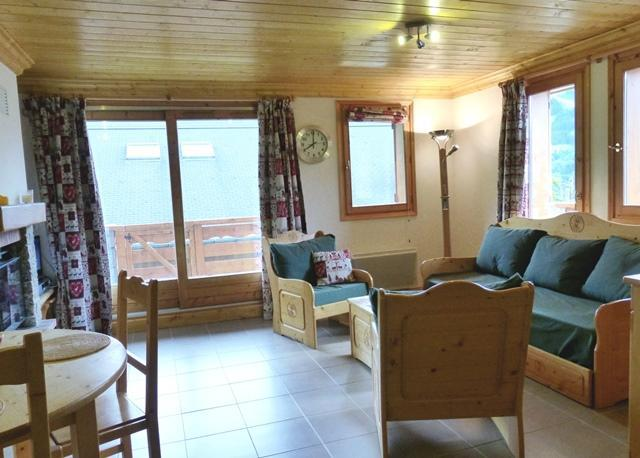 Location au ski Appartement 3 pièces 6 personnes - Residence L'aubepine - Méribel - Séjour