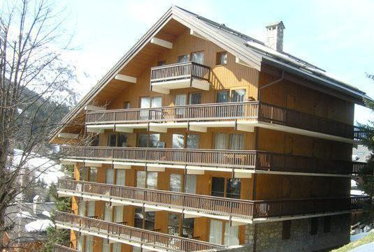 Location au ski Studio 4 personnes (19) - Residence L'edelweiss - Méribel