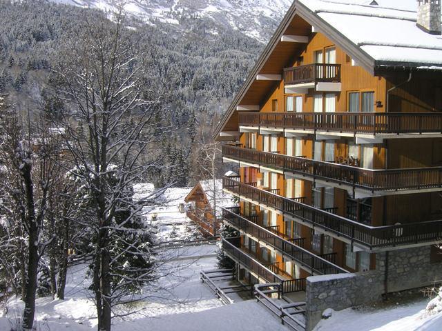 Vacances en montagne Résidence l'Edelweiss - Méribel - Extérieur hiver