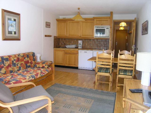 Location au ski Appartement 3 pièces 5 personnes (09) - Résidence l'Edelweiss - Méribel - Cuisine