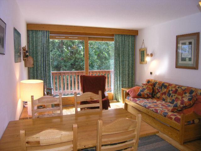 Location au ski Appartement 3 pièces 5 personnes (09) - Résidence l'Edelweiss - Méribel - Séjour