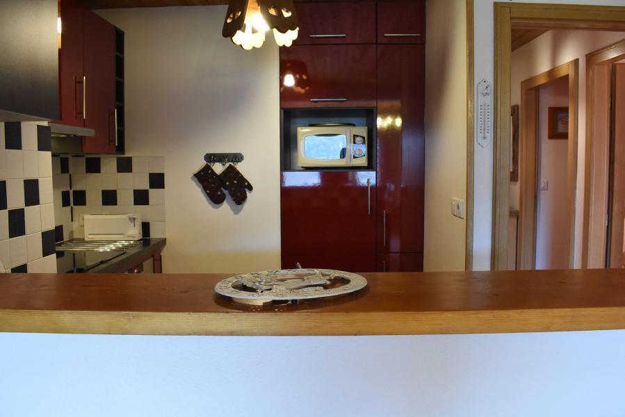 Alquiler al esquí Apartamento 3 piezas para 6 personas (20) - Résidence la Forêt - Méribel - Cocina