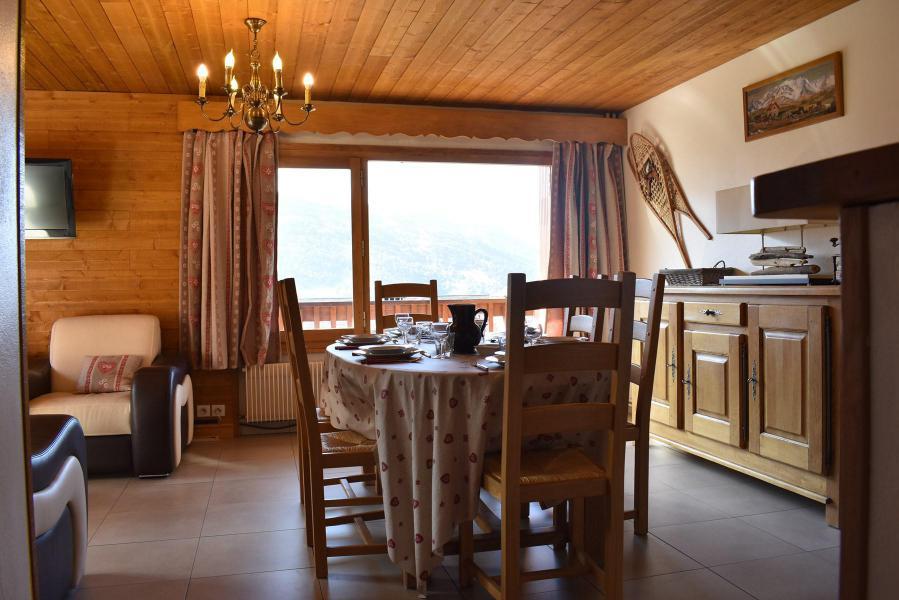 Alquiler al esquí Apartamento 3 piezas para 6 personas (20) - Résidence la Forêt - Méribel - Comedor