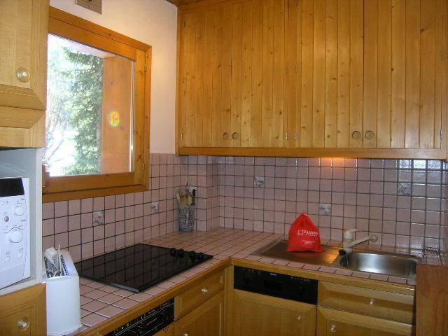 Location au ski Appartement 2 pièces 4 personnes (30) - Résidence la Forêt - Méribel - Lavabo