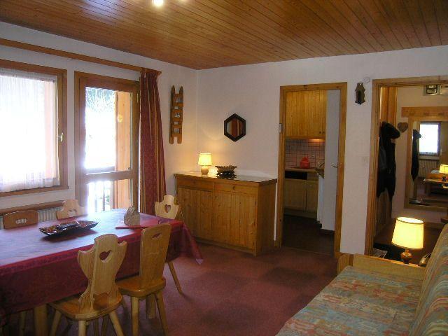 Location au ski Appartement 2 pièces 4 personnes (30) - Résidence la Forêt - Méribel - Séjour