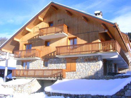 Location au ski Residence La Genette - Méribel