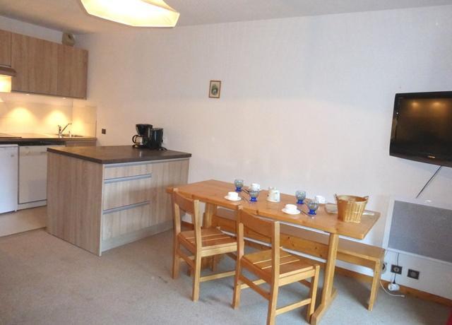 Location au ski Appartement 2 pièces coin montagne 4 personnes (09) - Residence La Genette - Méribel - Coin repas