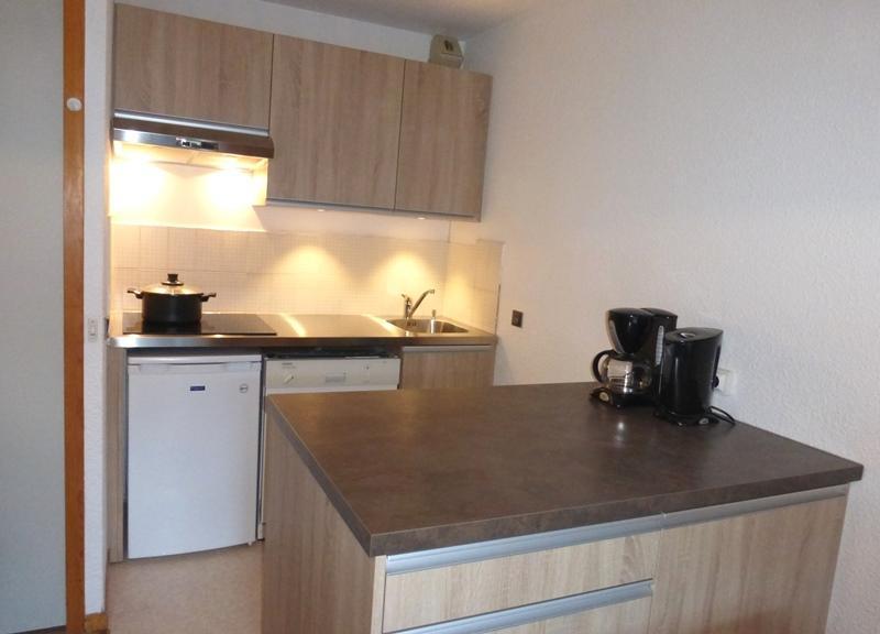 Location au ski Appartement 2 pièces coin montagne 4 personnes (09) - Residence La Genette - Méribel - Kitchenette