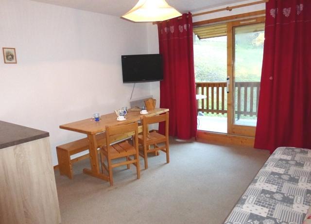 Location au ski Appartement 2 pièces coin montagne 4 personnes (09) - Residence La Genette - Méribel - Séjour