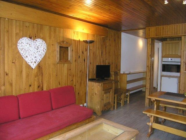 Location au ski Studio 5 personnes (A11) - Residence La Tougnete - Méribel - Lavabo