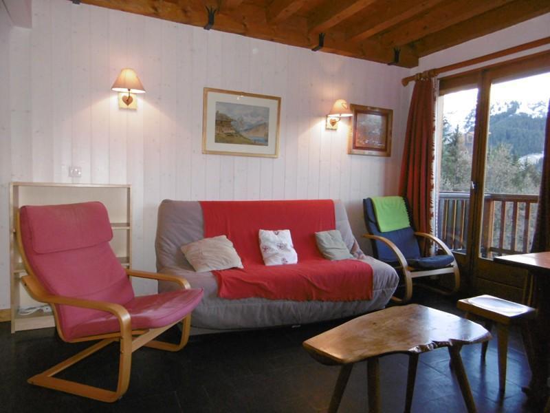 Location au ski Appartement 3 pièces 9 personnes (87) - Residence Lac Noir - Méribel - Séjour