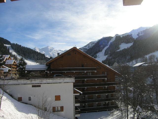 Location au ski Studio 4 personnes (17) - Résidence le Chalet de Méribel - Méribel - Extérieur hiver