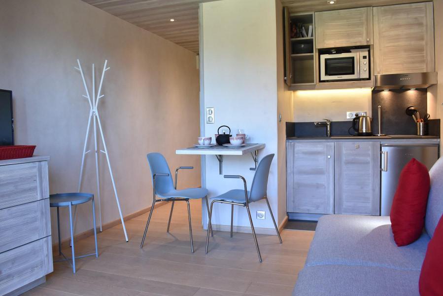 Location au ski Studio 2 personnes (MRB120-017) - Résidence le Chantemerle - Méribel - Kitchenette