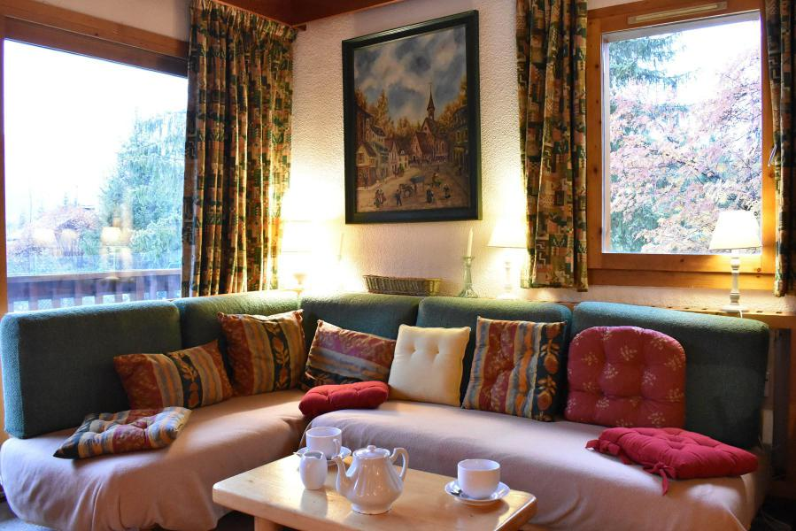 Alquiler al esquí Apartamento dúplex 3 piezas 6 personas (19) - Résidence le Chasseforêt - Méribel - Sofá