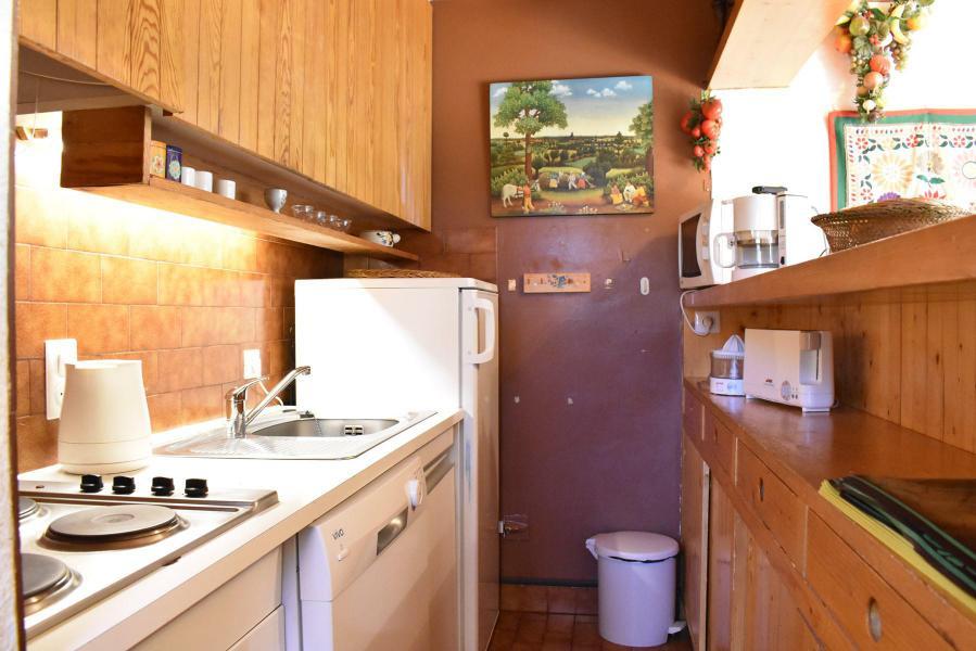 Location au ski Appartement duplex 3 pièces 6 personnes (19) - Résidence le Chasseforêt - Méribel - Kitchenette