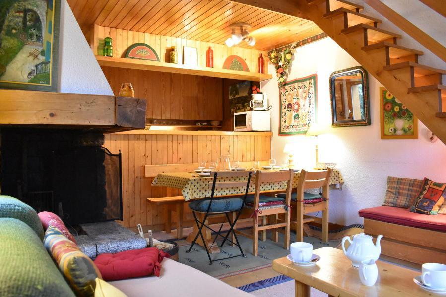 Location au ski Appartement duplex 3 pièces 6 personnes (19) - Résidence le Chasseforêt - Méribel - Table