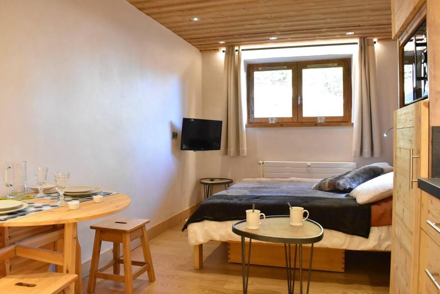 Location au ski Studio 2 personnes (6) - Résidence le Chasseforêt - Méribel - Séjour