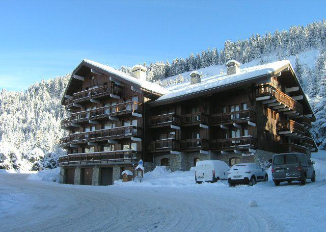 Location au ski Studio 4 personnes (A4) - Résidence le Christmas - Méribel