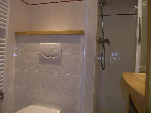 Location au ski Studio 2 personnes (I13) - Résidence le Cirsé - Méribel - Salle d'eau