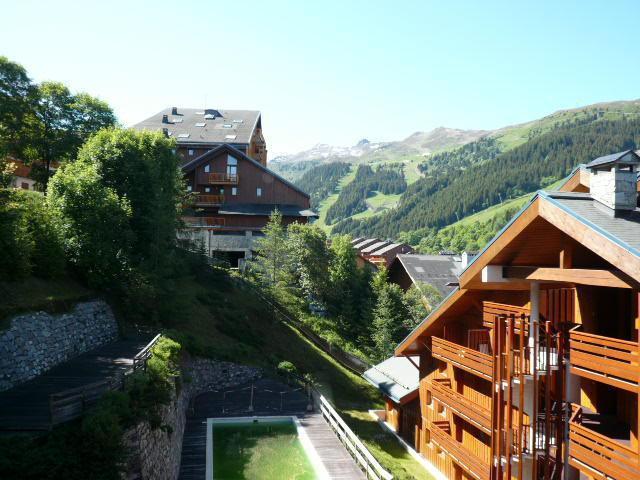 Location au ski Appartement 2 pièces 4 personnes (44) - Residence Le Cristal - Méribel - Chambre