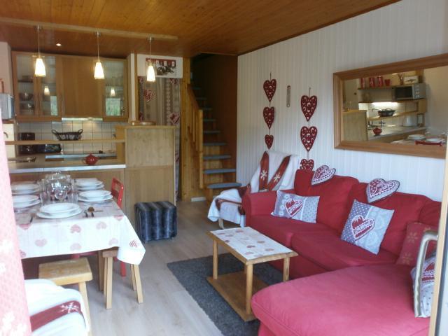 Location au ski Appartement duplex 3 pièces 6 personnes (031) - Résidence le Genèvrier - Méribel