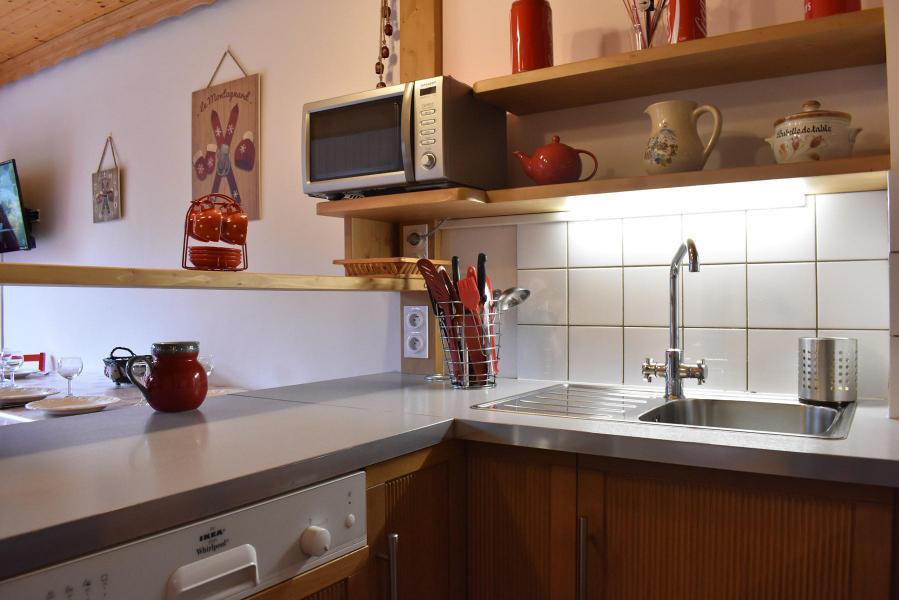 Alquiler al esquí Apartamento dúplex 3 piezas 6 personas (031) - Résidence le Genèvrier - Méribel