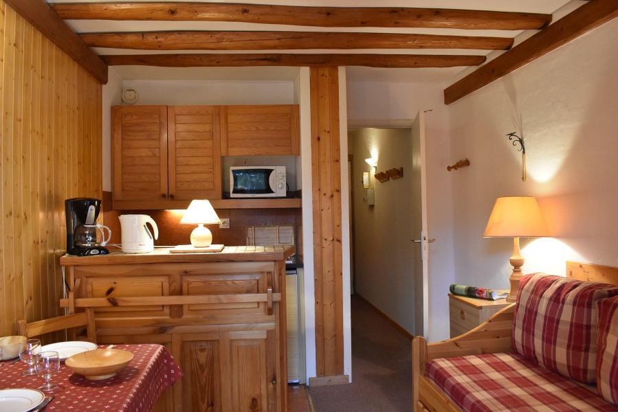 Alquiler al esquí Estudio para 2 personas (107) - Résidence le Grand-Sud - Méribel