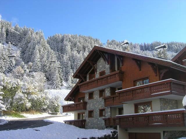 Alquiler al esquí Apartamento dúplex 4 piezas 8 personas (11) - Résidence le Jardin  d'Eden - Méribel - Invierno