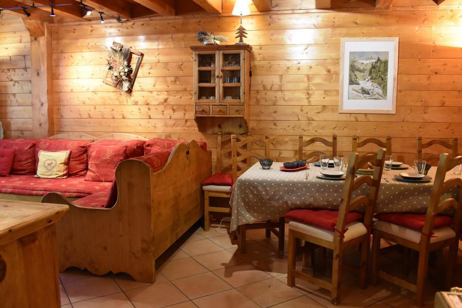 Location au ski Appartement duplex 4 pièces 8 personnes (11) - Résidence le Jardin  d'Eden - Méribel - Séjour