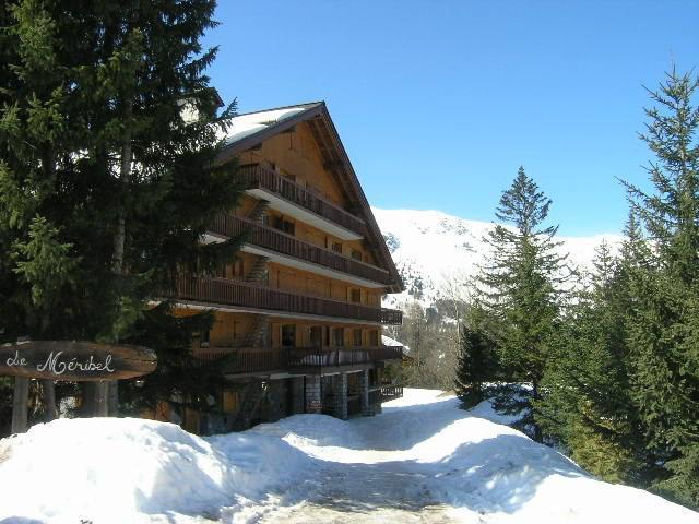Location au ski Studio 4 personnes (015) - Residence Le Meribel - Méribel
