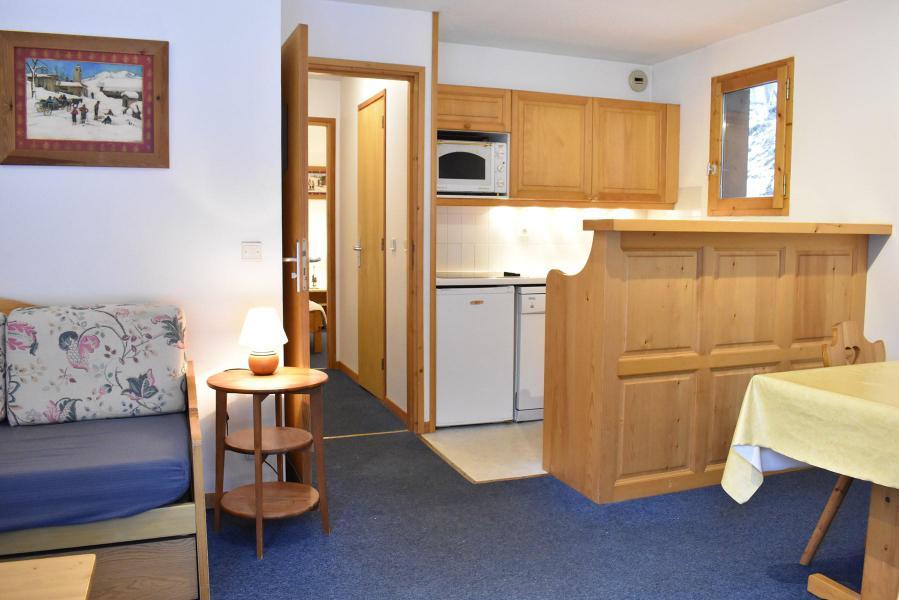 Location au ski Appartement 2 pièces 4 personnes (3) - Résidence le Télémark - Méribel - Séjour