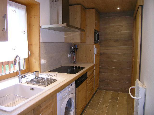 Location au ski Appartement duplex 4 pièces 8 personnes (1) - Residence Le Vallon - Méribel - Cuisine