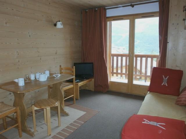 Location au ski Appartement 2 pièces 5 personnes (D16) - Résidence les Carlines - Méribel - Séjour