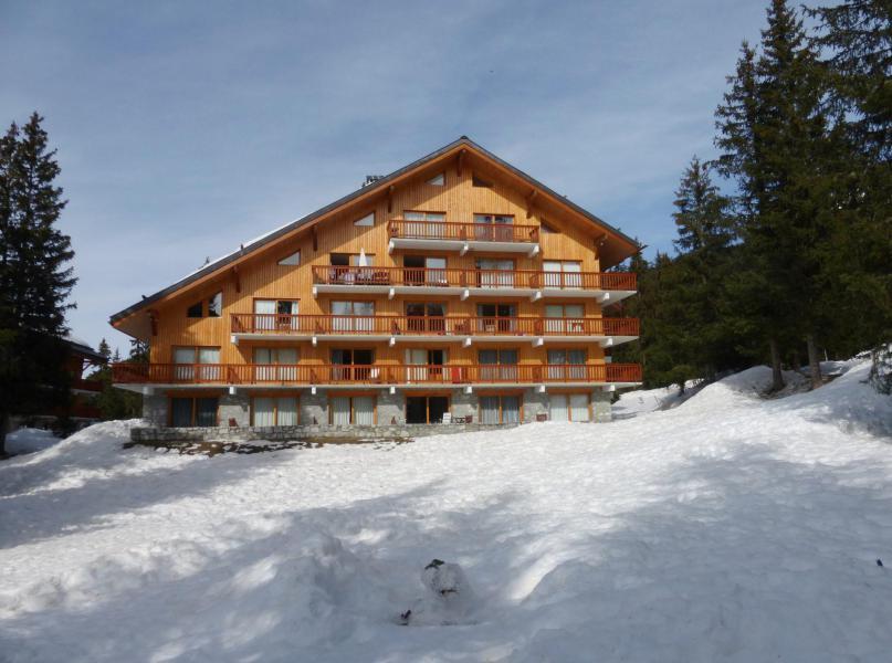 Wakacje w górach Résidence les Dauphinelles - Méribel - Zima na zewnątrz