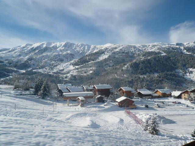 Location au ski Appartement 3 pièces 6 personnes (14) - Residence Les Fermes De Meribel Bat D1 - Méribel - Extérieur hiver