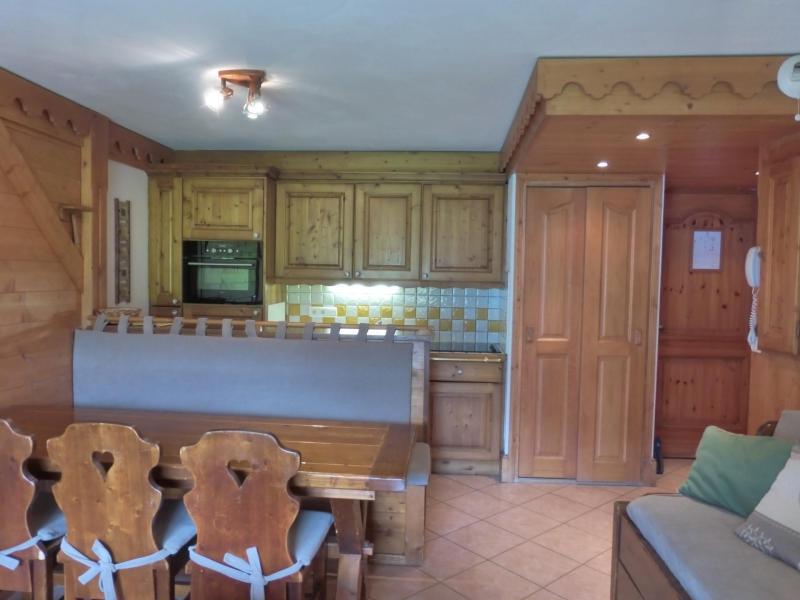 Location au ski Appartement 3 pièces 6 personnes (14) - Residence Les Fermes De Meribel Bat D1 - Méribel - Séjour