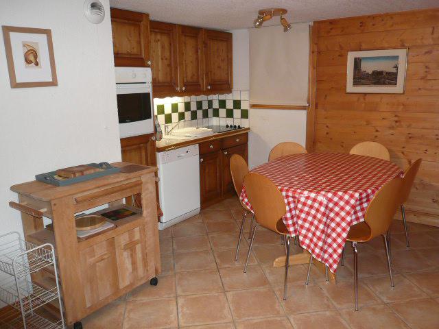 Location au ski Appartement duplex 3 pièces 6 personnes (18) - Résidence les Fermes de Méribel Bat G - Méribel - Cuisine