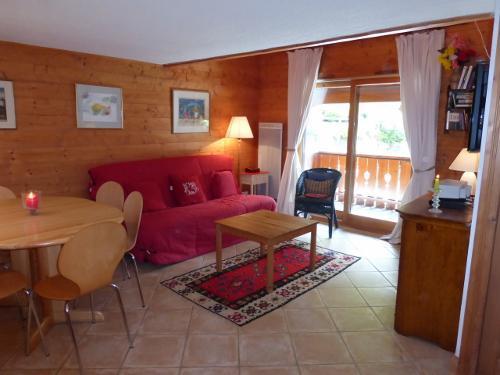Location au ski Appartement duplex 3 pièces 6 personnes (18) - Résidence les Fermes de Méribel Bat G - Méribel - Séjour