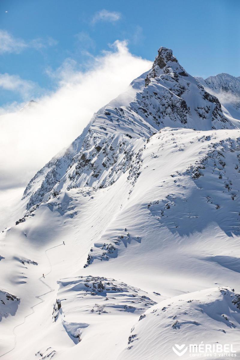 Vacances en montagne Appartement 3 pièces 5 personnes (07) - Résidence les Fermes de Méribel Bat I - Méribel - Extérieur hiver