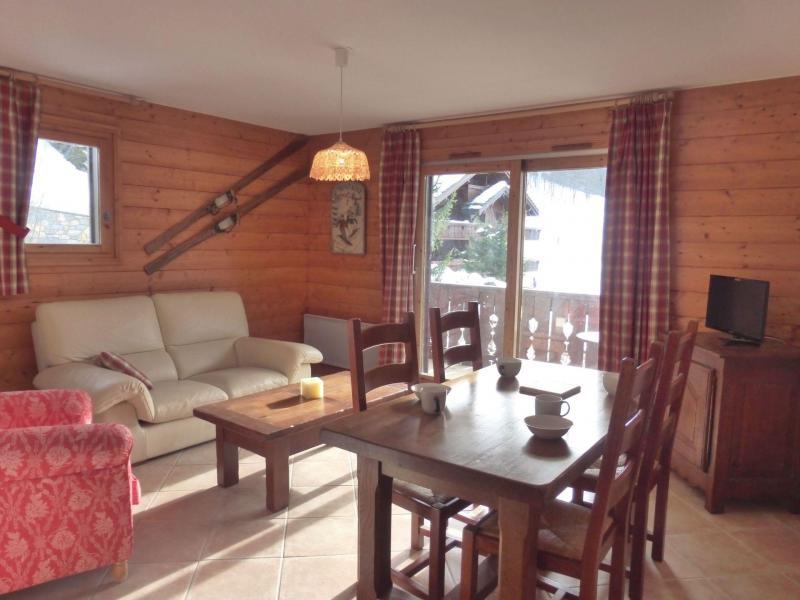Location au ski Appartement 3 pièces 5 personnes (07) - Résidence les Fermes de Méribel Bat I - Méribel - Table