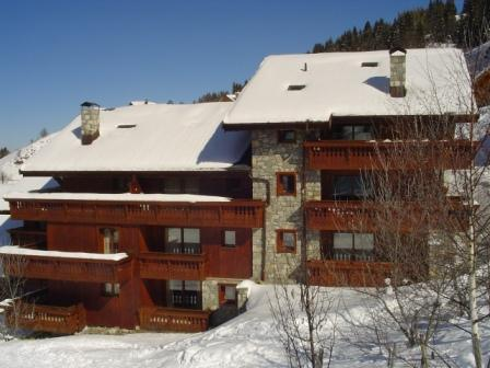 Location au ski Residence Les Jardins Du Morel - Méribel - Extérieur hiver